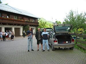 Ankunft in Bruck, Hans, Sigi und Ich