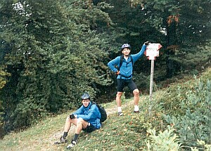 Trail zum Ledrosee